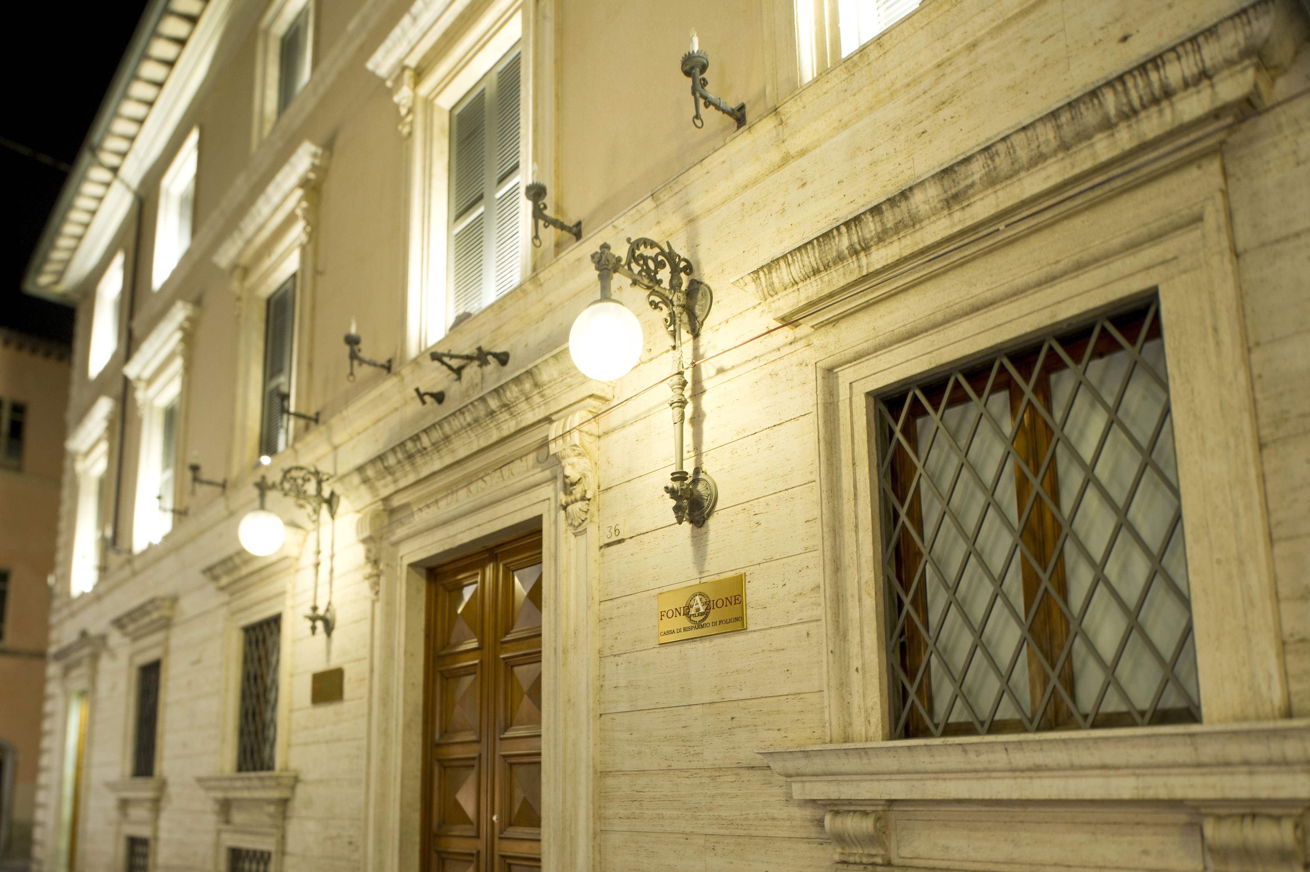 Palazzo Cattani sede della Fondazione Cassa di Risparmio di Foligno