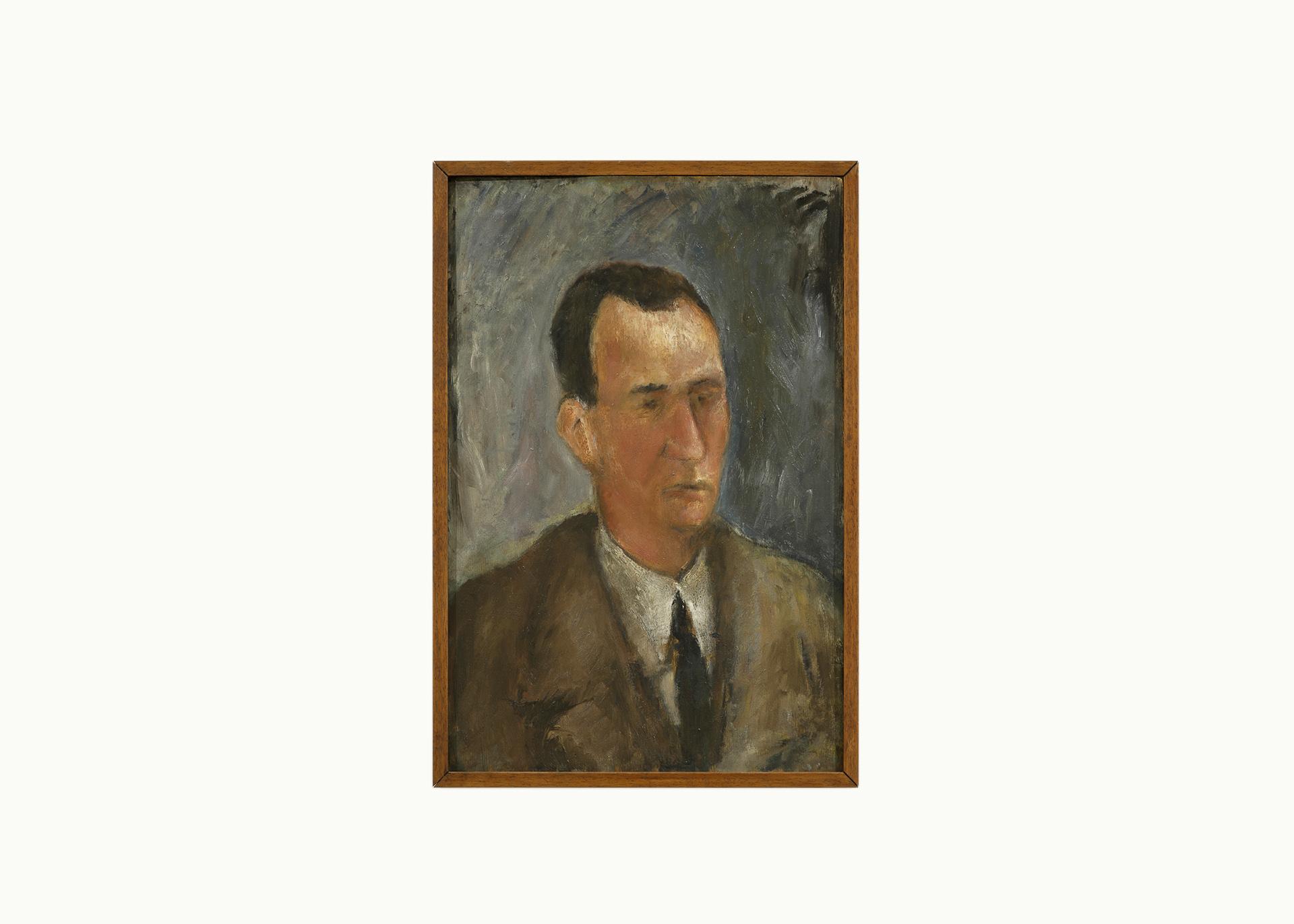 """Giuseppe Terragni - """"Ritratto del Sig. Guggiari"""""""